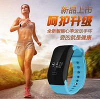 Wholesale 2016 NEW Smart Wristband X7 Fitness Tracker Smartband Heart Rate monitor sport smart bracelet PK JW86 TW64 for IOS Android phone