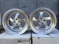 Wholesale New design auto parts alloy wheels alloy rim SDM inch x114 for KIA TOYOTA AUDI cars SDM ISO9001 TE37 HRE ROTIFORM
