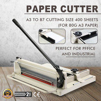 Wholesale Heavy Duty Steel quot Industrial Paper Cutter Perfect For A3 Paper