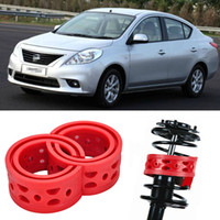 auto nissan sunny - 2pcs Super Power Rear Car Auto Shock Absorber Spring Bumper Power Cushion Buffer Special For Nissan Sunny