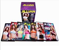 Wholesale AAAA quality JIllian Michaels ULTIMATE BOX SET Fitness dvds Hot Sale From Janet