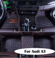 audi floor mat - Top Quality D Car Floor Mat For Audi A3 Foot Mat Car Foot Pad Colors Left Hand Driver Drop Shipping KF A2122
