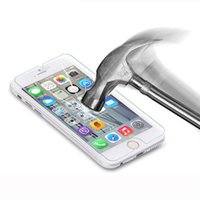 Wholesale 5 inch Glass For Apple iPhone plus Screen Protector Film mm D Explosion Proof Ultra thin Slim Tempered Glass Free ship