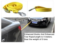 Wholesale Trailer Rope Enhanced Hooks And Enhanced Tow Rope Length is meters Bear the weight of tons thickening self relief rope