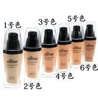 Wholesale Popfeel Liquid Concealer Foundation Flawless Cosmetics Makeup Foundation VS NYX Foundation New Arrivals Colors