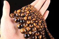 Wholesale 3 mm Natural Round Yellow Tiger Eye Stone Gemstone Loose Beads strand