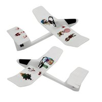 Wholesale 2016 Children s Educational Toys DIY Airplane Glider Craft Made of EPP Material Easy Assembled Best Christmas Gift for your Kids