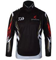apparel camp shirt - Plus Size XL daiwa brand fishing shirt outdoor sportswear fishing sun protection jersey fishing tackles angler sports apparel