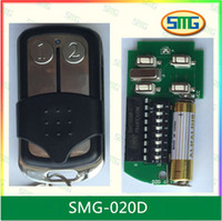 auto sliding gates - malaysia mhz dip switch auto gate remote control transmitter keyfob with metal sliding cover