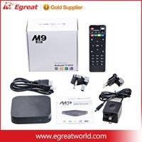 Wholesale Customized years warranty Google Smart Android TV box Boxes IPTV Kodi Blackbox Amlogic S905 Quad Core android tv box