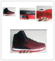 Wholesale 1 quality retro XXXI RED BLACK COLOR