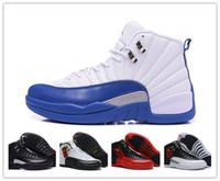 Wholesale Nike dan French Blue Taxi Flu Game Play Off Retro s Men s Jordan Size