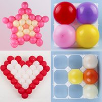 background modeling - Supplies Modeling Party Balloons Grids Wall Heart Five pointed Star Square Grid Background Activity Decor