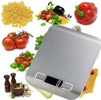 Wholesale New Arrive Kitchen Scale Cooking Measure Tools Stainless Steel Electronic Weight Pocket Digital LCD Scale KG G with gift box