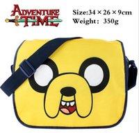 adventure time bag - Adventure Time with Finn and Jake polyester Cartoon Messenger Bag School Bag Shoulder Crossbody Girl Daypack Handbag