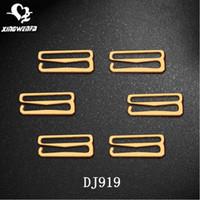 adjuster buckle - ladies underwear accessories gold color metal hook buckle for bra strap or swimwear strap adjuster mm