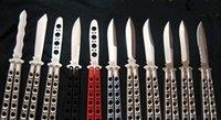 knives - benchmade balisong butterfly BM41 BM42 BM43 BM46 BM47 BM49 models jilt knife Free swinging hunting knife fox micreotech freeshipping