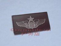 air force names - US Air Force USAF pilot leather badge badge name card