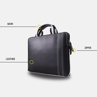 Wholesale Luxury Business Laptop Briefcase Notebook PU Leather Carry Bag for MacBook Air quot quot Pro Pro Ultrabook with Retina Display