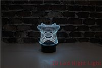 amazing wedding presents - Amazing Fashionable Holiday Present Illusion Desk D Led Lamps with CE Certificate YJM