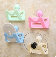 Wholesale Direct manufacturers with a suction cup LIDS Vacuum double heart non trace free nail the cover frame Chuck receive large pot