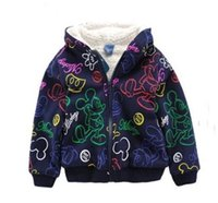 Wholesale 2016 New T winner boy jackets casual hooded outerwear for boy fashion Hand Painted mikie clothing girls