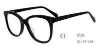 Wholesale HandMade Acetate Optical Frame Myopia Eyewear Glasses Eyeglasses For men women STOCK F176