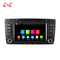 Wholesale 1024X600 Core Android Car DVD Player for Volkswagen Skoda Octavia with Radio Navi Wifi DVR Mirror Link BT Free Gifts
