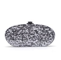america cell phone - 2016 explosion models in Europe and America evening bag high grade acrylic oval mirror catwalk clutch bag evening bags hand