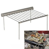 Wholesale Alocs Aluminum Camping Portable Charcoal Grill for Outdoor Barbecue Picnic BBQ CF PG01