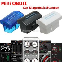 Wholesale OBDII Bluetooth Car Fault Diagnosis Scanner Tester for Android Windows