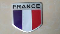 aluminum union - Car Aluminum Alloy Union Jack UK Flag Badge Sticker Emblem Decal Sticker car sticker USA Germany Russian Flag harleey