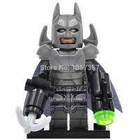 batman vs - XINH DC Super Heroes Batman vs Superman Minifigures Building Blocks Batman Single Sale Sets Model Bricks Toys