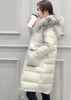 Wholesale Woman long warm down jacket winter womwn coat winter wear