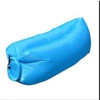 beach bean bags - Outdoor Inflatable Lounger Nylon Fabric Beach Lounger Convenient Compression Air Bag Hangout Bean Bag Portable Dream Chair