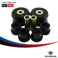 Wholesale PQY RACING Front Control Arm Bushing Kit FOR VW Beetle Golf Jetta Polyurethane BLACK RED PQY FCAB11