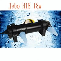 aquarium water clarifier - JEBO W Wattage UV Sterilizer Lamp Light Ultraviolet Filter Clarifier Water Cleaner For Aquarium Pond Coral Koi Fish Tank L