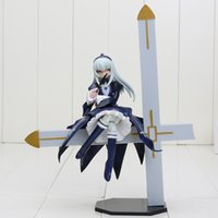 big sat - Anime Dropship Rozen Maiden Mercury Lampe Sit on Big Crosee Scale Action Figures Toy