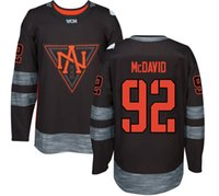 Wholesale 2016 World Cup of Hockey North American Team Jersey Gaudreau Miller Trouba Ekblad Parayko Jones Mcdavid Drouin Jerseys Any Name and Number