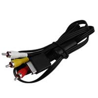 Nueva 1.8M del RCA TV por cable AV plomo sonido del vídeo para Sony Playstation 2 Para mayor 3 PS2 PS3