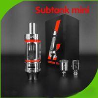 Wholesale Best quality kanger subtank mini mm Kanger toptank Mini Subtank coils with mL and Kanger Sub ohm tank dhl
