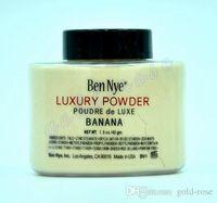 Wholesale Ben Nye Luxury Powder g Waterproof Nutritious Banana Brighten Long lasting DHL New Natural Face Loose Powder