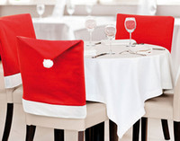 Wholesale christmas decoration christmas chair cover non woven