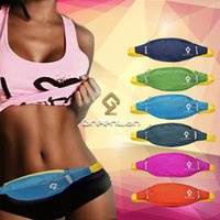 Wholesale new Unisex Multifunctional Nylon Outdoor Sports Phone Coin Zip Waist Bag for Travel Hiking Running Fanny