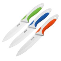 chefs knives set - Top Brand SURVEN Hot Sale Kitchen Dining Bar inch Ceramic Knife Paring Fruit Utility Chef Ceramic Knife Useful Design