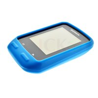 Wholesale New Road Mountain Bike Cycling Training Sky Blue Rubber Skin Cover Case For Garmin GPS Edge