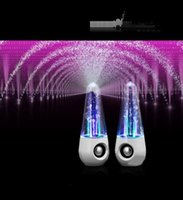 audio input iphone - Android Stereo LED Dancing Water Wireless Bluetooth Stereo Speaker iPhone iPad Samsung Computer Car Stereo Usb Stereo Effects And Pedals