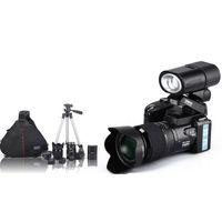 digital telescope - 2016 New MP HD D3300 Digital Camcorder Camera Wide Angle Lens x Optical Telescope Lens D3000 D3200 Stock Free DHL