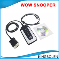 Engine Analyzer automotive battery tester - 2016 Newly Wow Snooper TCS cdp plus pro with wow R1 software cars trucks diagnostic tool same as ds150 DHL