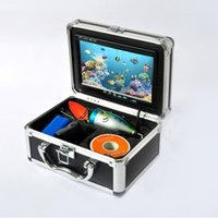 Wholesale Fish Finder quot TFT LCD Monitor TV Lines Underwater Video Camera System HD M Cable Fishing Tackle Equipment